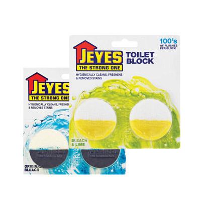 Jeyes Toilet Block Bleach (Lime, Original)