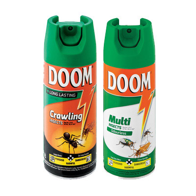 Doom 300ml (Defend, Odourless, Powerfast Crawling Insects)